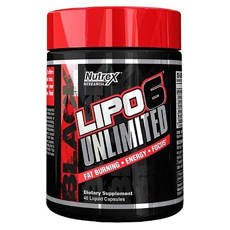 Lipo 6 Unlimited 40 Cápsulas Nutrex