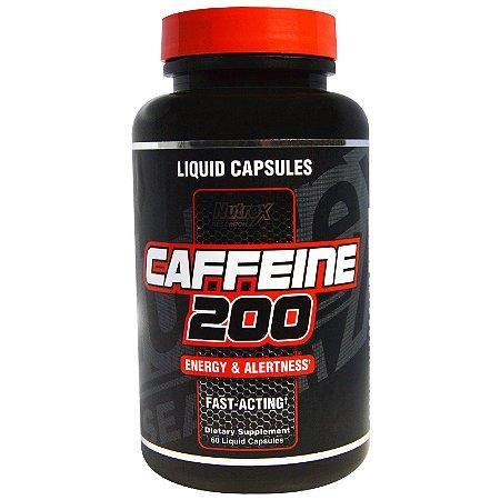Cafeína 200 (60 Cápsulas) - Nutrex