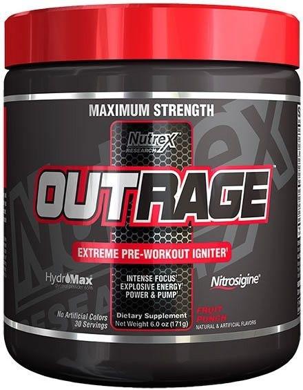 Outrage (30 Porções) - Nutrex