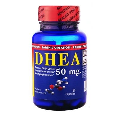 Dhea 50mg (60 Cápsulas) - Earth's Creation