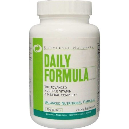 Daily Formula (100 Cápsulas) - Universal Nutrition