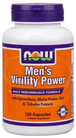MEN'S VIRILITY POWER (60 CÁPSULAS) - NOW FOODS
