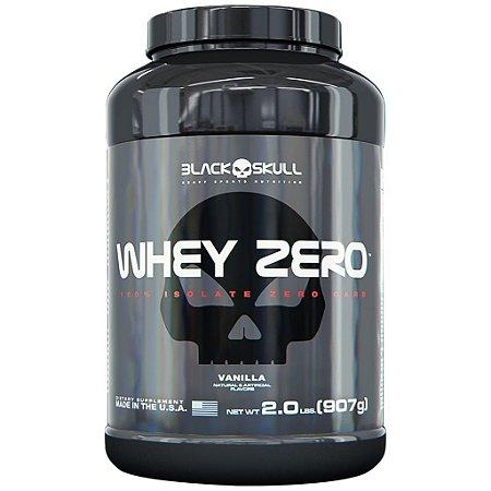 WHEY ZERO (907g e 2kg) - BLACK SKULL