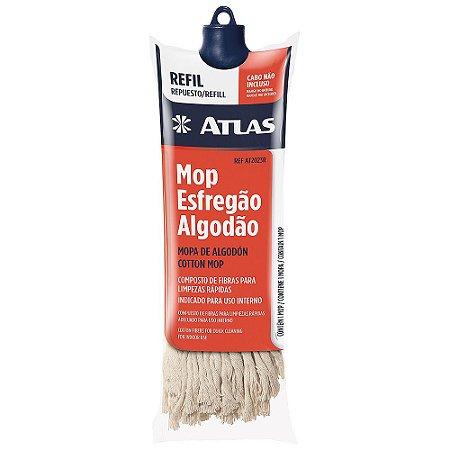 Mop Algodão limpeza Atlas (refil sem cabo)