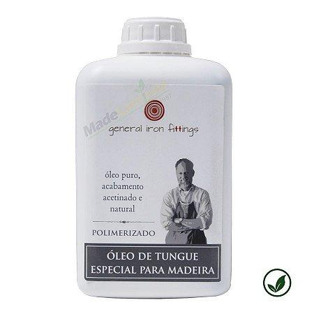 Óleo de tungue polimerizado 100% puro