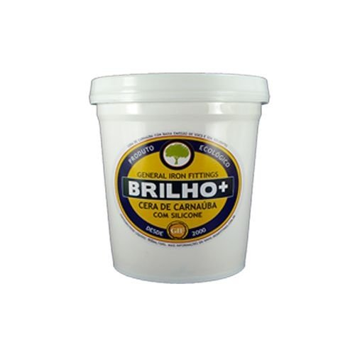 Cera de carnaúba Brilho+ cremosa incolor (pronta para uso)