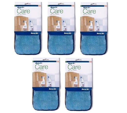 *Saldo de estoque = Kit com 5 Refil limpeza microfibra (uso exclusivo Mop Bona)