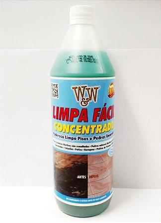 Limpa fácil concentrado W&W 1 litro (para diversos pisos e pedras encardidas)
