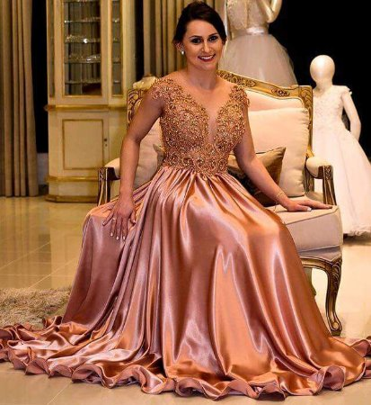 4b764d527 VESTIDO RENDA E TULE BORDADO K UUMY5DMZZ - Livia Fashion - Atelier ...