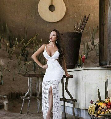 a681c2a14 VESTIDO DE RENDA FENDA LATERAL K AJ9Q2NPYH - Livia Fashion - Atelier ...