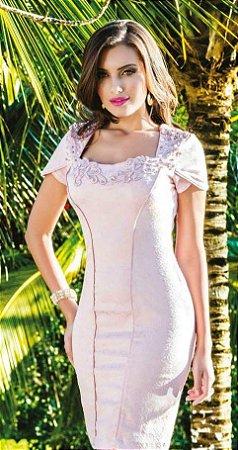 a5ca8f04d VESTIDO COM BORDADO K YDR3SMKY2 - Livia Fashion - Atelier de costura ...