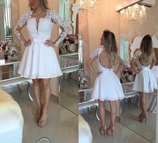 1a25a5c54 VESTIDO BRANCO GODÊ RENDA E TULE K C8WJTMQDZ - Livia Fashion ...