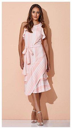 a84673804 VESTIDO LISTRADO SUAVE K QWSV8YTBQ - Livia Fashion - Atelier de ...