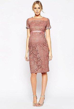 8138c3025 VESTIDO DE RENDA COM TULE K MJDD9ZRGS - Livia Fashion - Atelier de ...