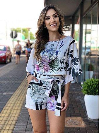 2bad9bf392 CONJUNTO BRANCO ESTAMPADO K NEV6AER9W - Livia Fashion - Atelier de ...