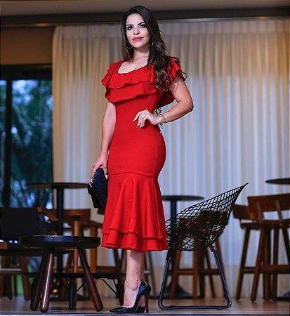ac0ccbc67 VESTIDO BABADO K HBH2R8GFX - Livia Fashion - Atelier de costura ...
