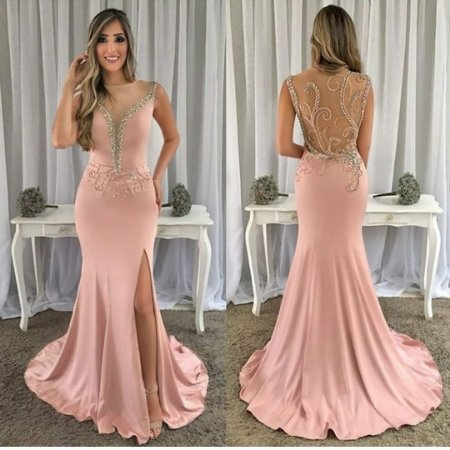 987697a94 VESTIDO SEREIA ROSE BORDADO L EZ749GN5N - Livia Fashion - Atelier de ...