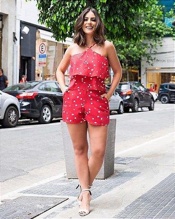 cc164898ad CONJUNTO VERMELHO ESTAMPADO K 77NY3CAE9 - Livia Fashion - Atelier de ...