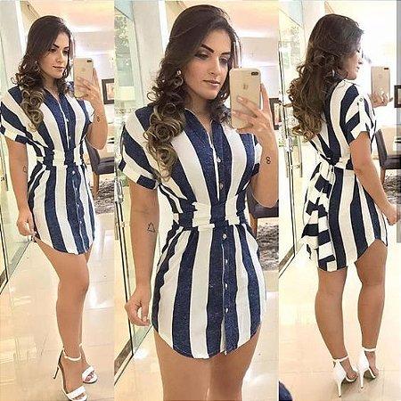 20817f18d8213 VESTIDO CAMISA LISTRADO COM FAIXA K Y9SNXF7S9 - Livia Fashion ...