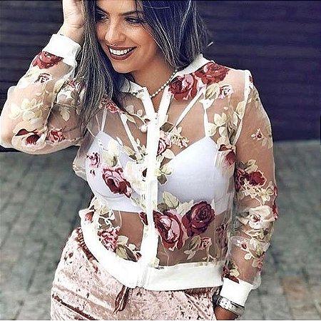 73c71f8c4 JAQUETA BOMBER TRANSPARENTE FLORIDA K VM97EKFZN - Livia Fashion ...