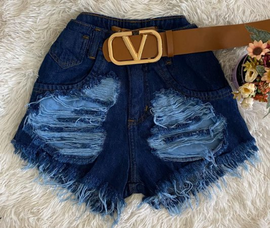 SHORT JEANS P WS9FN5FFX F002