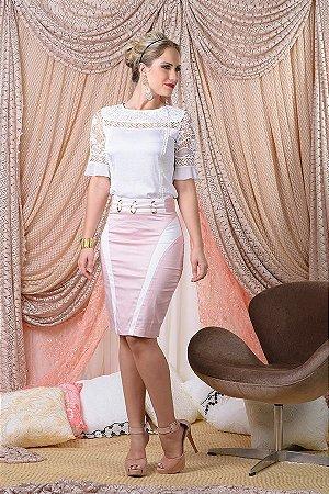 ed55662012 CONJUNTO BLUSA CREPE SAIA K 2TFGU59GV - Livia Fashion - Atelier de ...