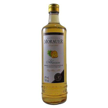 Cachaça de Abacaxi Aguardente composta Morauer - 700ml.