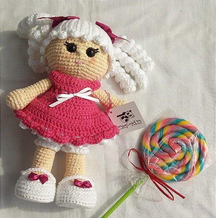Comprar Amigurumi Boneca de Crochê Duda para Presentes ... | 450x445