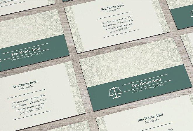 Cartão de Visita Advogado M0006