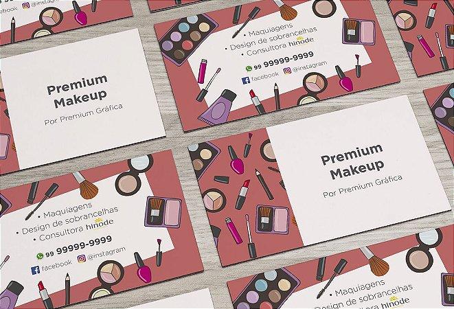 Cartão de Visita Makeup M0002