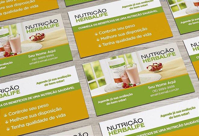 Cartão de Visita Herbalife M0001