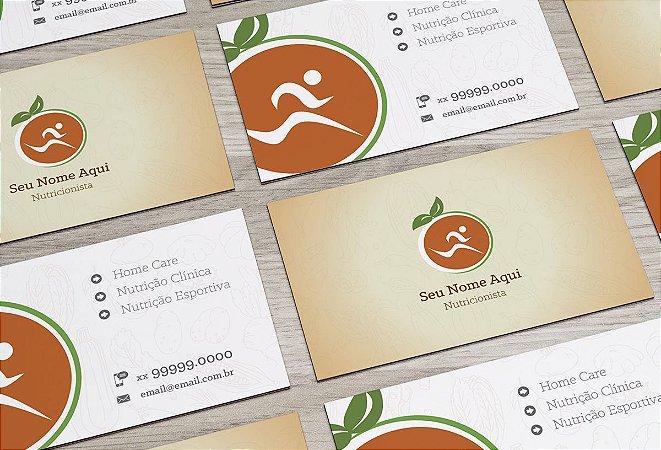 Cartão de Visita Nutricionista M0007