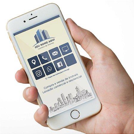 Cartão Virtual Corretor de Imóveis M0001