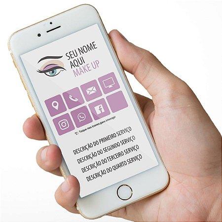 Cartão Virtual Makeup M0001