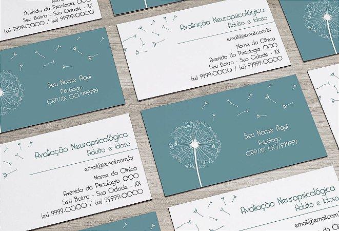 Cartão de Visita Psicólogo M0023
