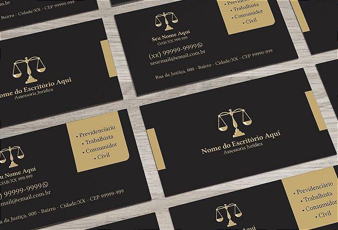 Cartão de Visita Advogado M0025