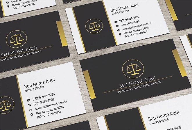 Cartão de Visita Advogado M0026