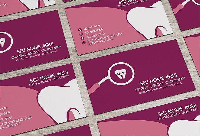 Cartão de Visita Dentista M0009
