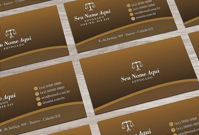 Cartão de Visita Advogado M0036