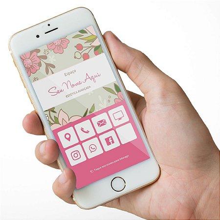 Cartão Virtual Esteticista M0008