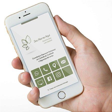 Cartão Virtual Nutricionista M0008