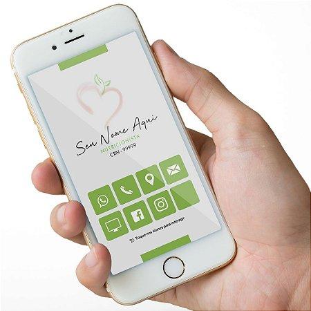 Cartão Virtual Nutricionista M0015