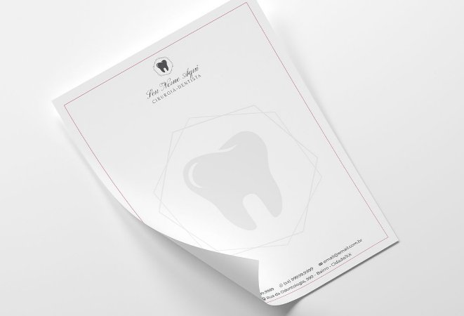 Receituário Dentista M0005