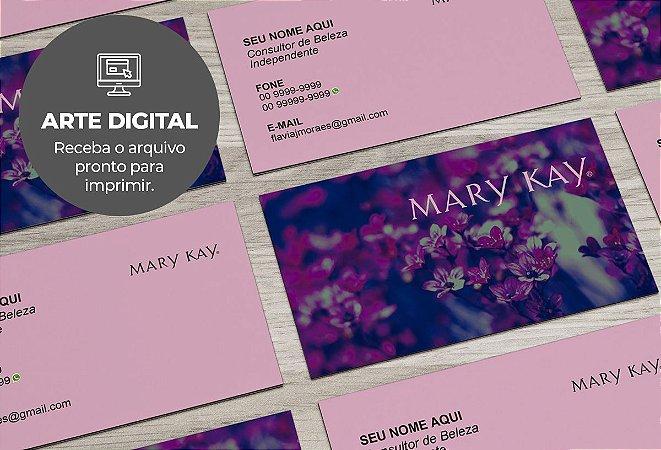 Cartão de Visita (somente a arte) Mary Kay M0004