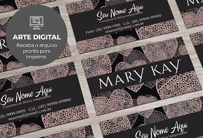 Cartão de Visita (somente a arte) Mary Kay M0006