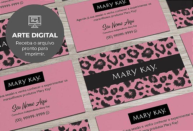 Cartão de Visita (somente a arte) Mary Kay M0007