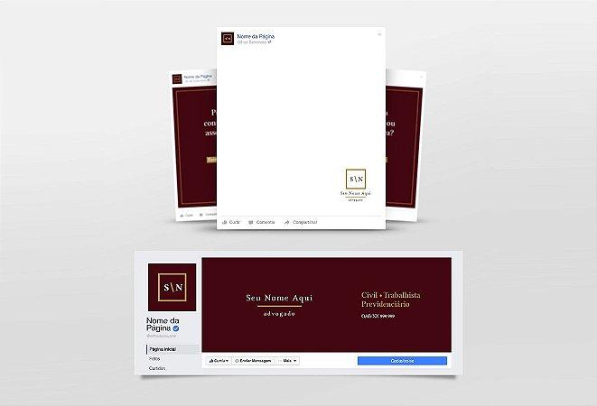 Kit Redes Sociais Advogado M0027