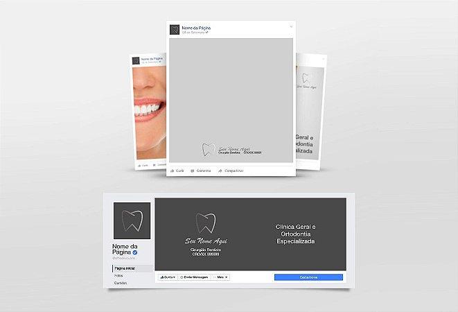 Kit Redes Sociais Dentista M0006