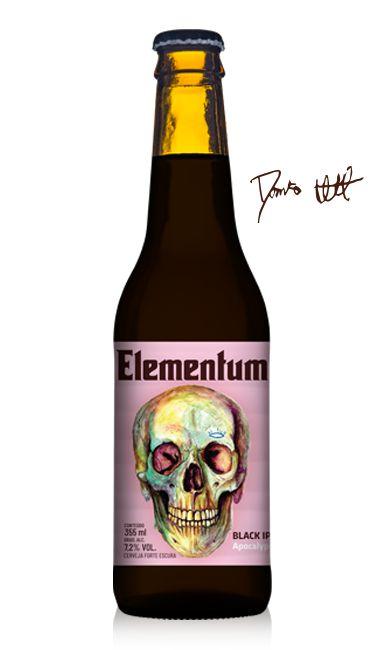 Apocalypse - Black IPA - 355 ml - Elementum