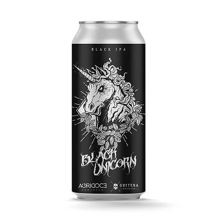 Black Unicorn - Black IPA - Agridoce/Guitera 473 ml